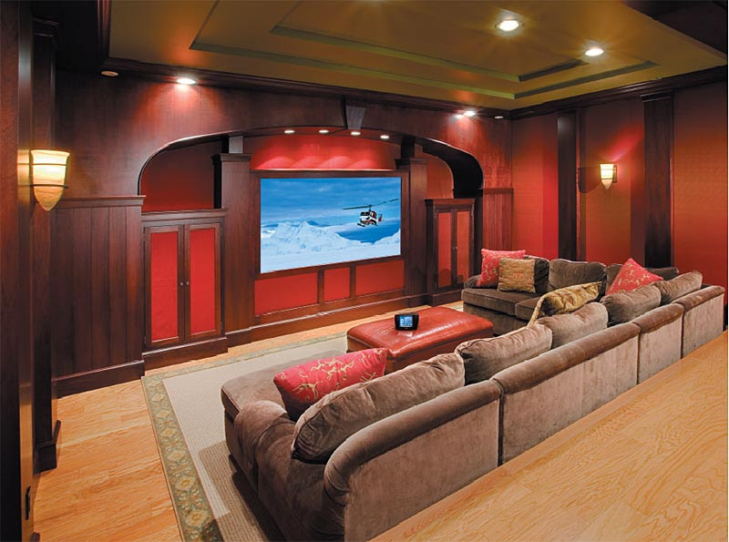 Home Theater Room Paint | Home Theater Designs Ideas