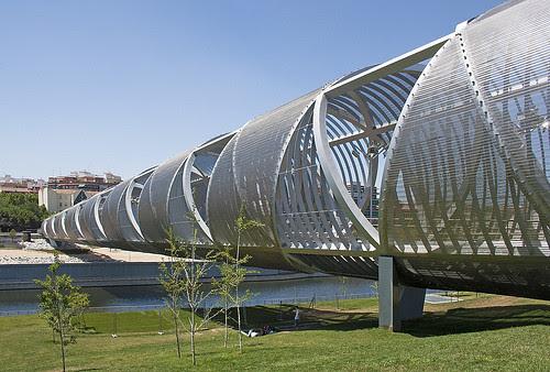 Arganzuela footbridge, Madrid, Spain