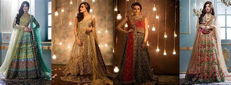 Pakistani Designers Bridal Wedding Dresses'17   Stylo Planet