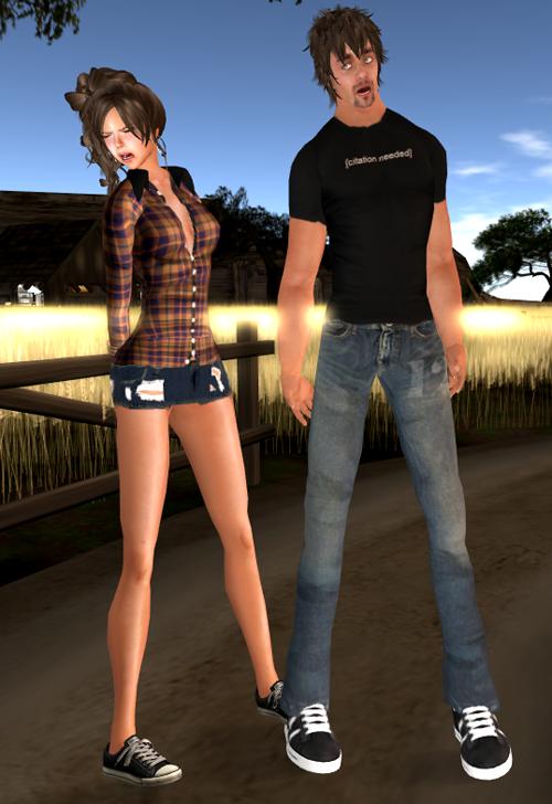 M2M Poses [Couple]