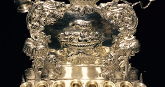 19th Century Silver Russian Menorah Appraisal