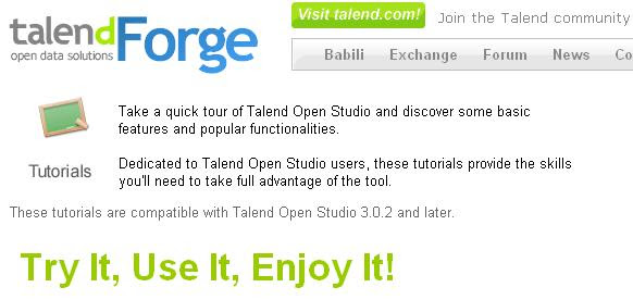 Talend Tutorials