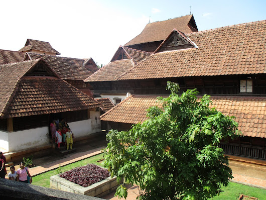 Padmanabhapuram Palace, Thuckalay -one of the largest WOODEN PALACES IN ASIA