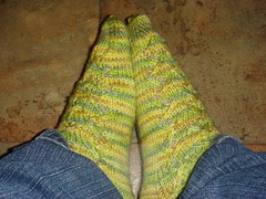 crosshatch sock