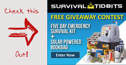 Solar Powered Emergency Kit Giveaway
