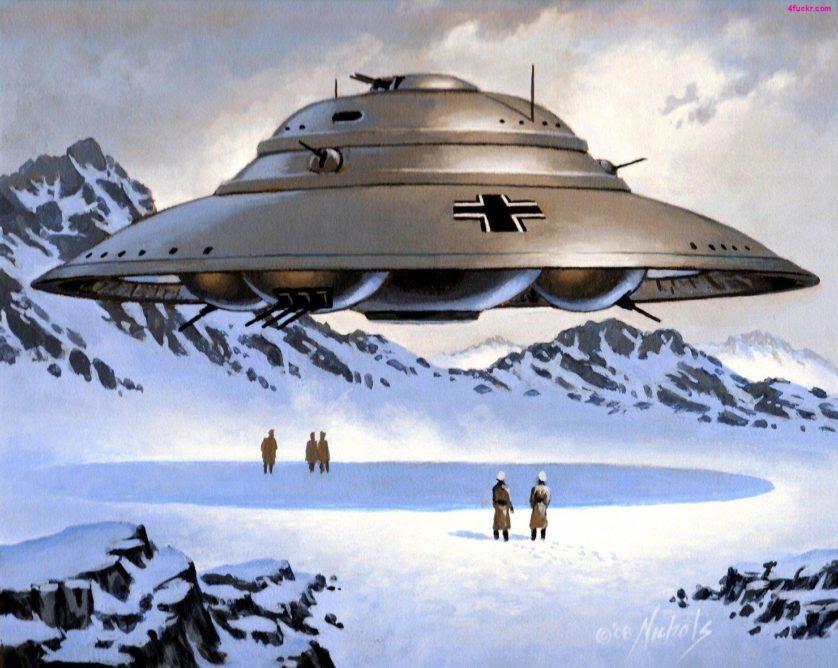 rumores conspiracao OVNIs e nazistas 9