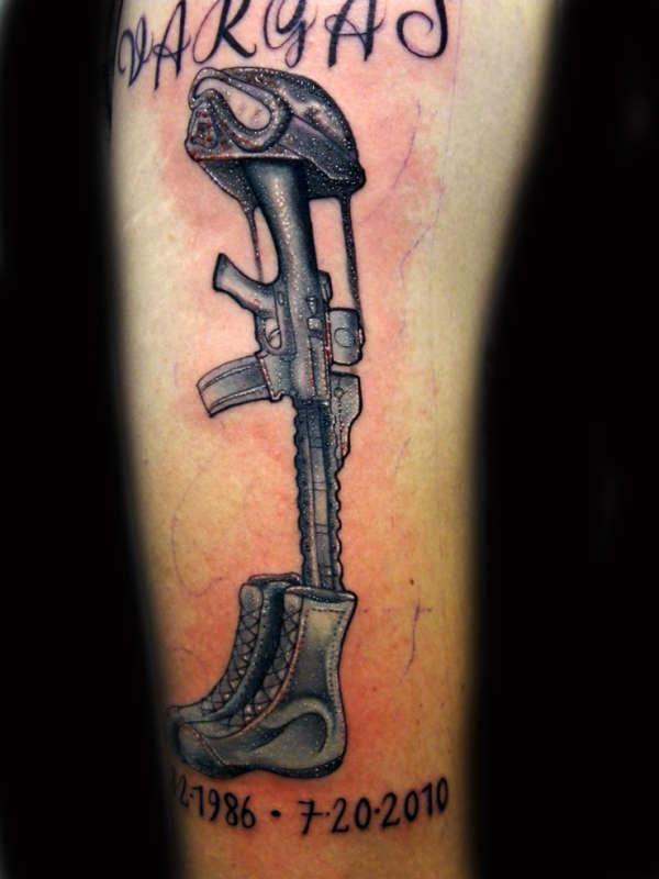 Fallen Soldier Tattoo