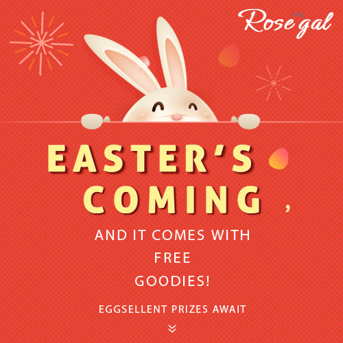 Play to Win: Lucky Egg Draw at RoseGal!
