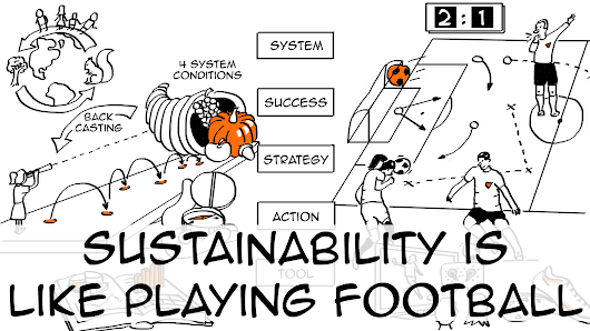 Sustainability is like football: a 5-step game plan to help you win - Sustainability Illustrated