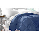 TBD Hotel Grand All Seasons Down Alternative Comforter: Navy/King Blue King