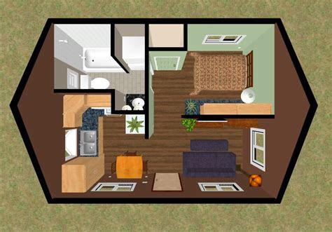 tiny house floor plans mountain  sq ft tiny