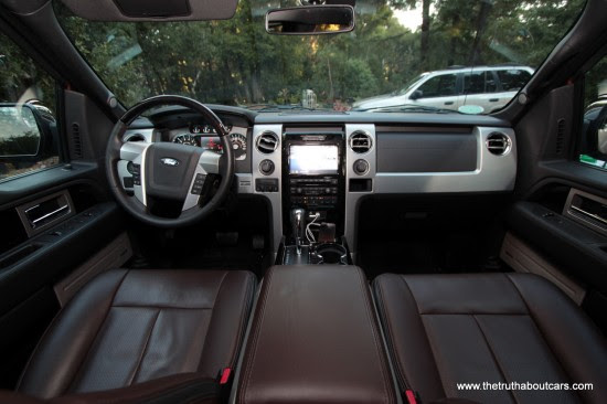 Review 2012 Ford F 150 Platinum 50l V8 The Truth About Cars
