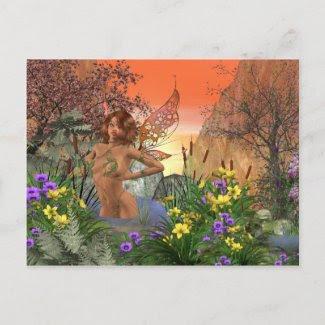 Anemone Post Card