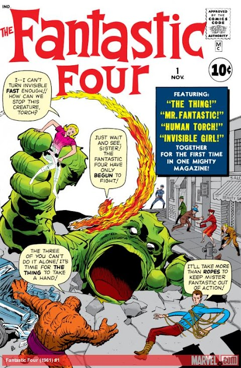 Marvel Comics Fantastic Four 1