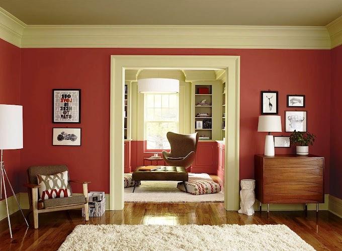 Ruang Tamu Warna Merah   Ide Rumah Minimalis