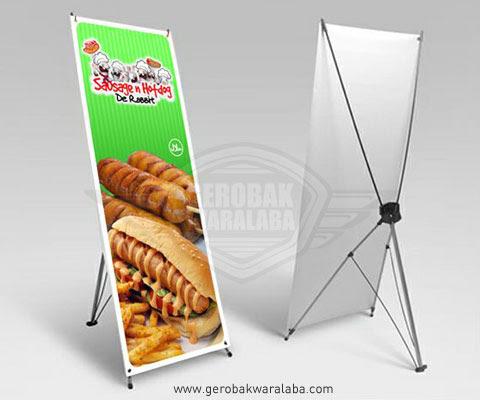 luar biasa desain x banner sosis bakar erlie decor luar biasa desain x banner sosis bakar