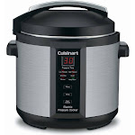 Cuisinart CPC-600 Pressure Cooker - 1000W - 6 qt - Brushed Stainless Steel