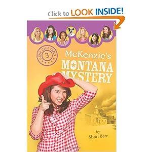 McKenzie's Montana Mystery (Camp Club Girls)