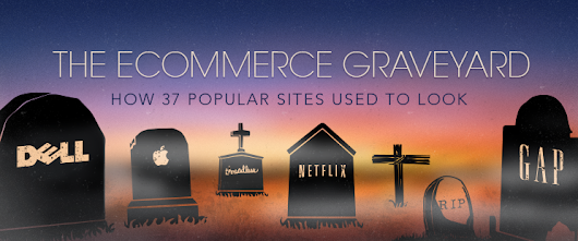 The Ecommerce Graveyard: How 37 Popular Sites Used to Look – Shopify