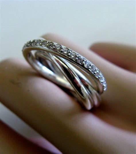 Fine Jewelry   Russian Wedding Bands   Trinity Engagement