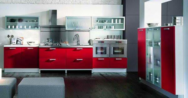 15 Stunning Red Kitchen Ideas | Home Design Lover