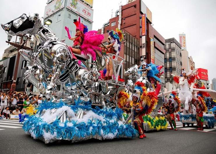 Resultado de imagem para samba no Japão