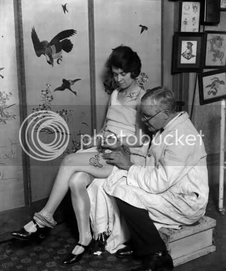 vintage tattooed women