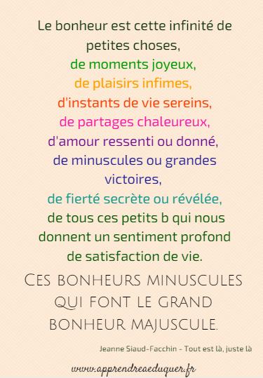 Citation Joie Enfance
