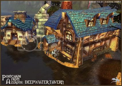 Postcards of Azeroth: Deepwater Tavern, submitted by Gazimoff of Steamwheedle Cartel-EU