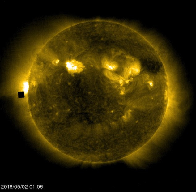 Borg cube at our Sun
