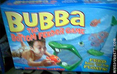 Bubba the Bottom Feeder Game