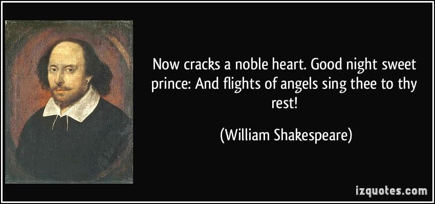Good Night Sweet Prince La Salle Academy Ruminations