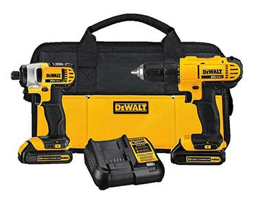 Enter For A Chance To Win a DEWALT 20v Lithium Drill Driver/Impact Combo Kit