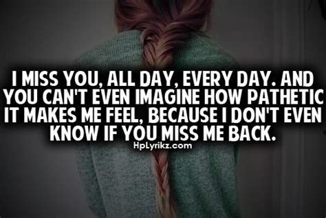 Missing Me Quotes