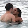 Young love! Dionne Bromfield enjoys lingering kisses with The Wanted's Nathan Sykes on romantic break in Caribbean