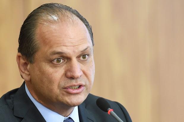 O ministro da Saúde do governo Temer, Ricardo Barros (PP-PR)