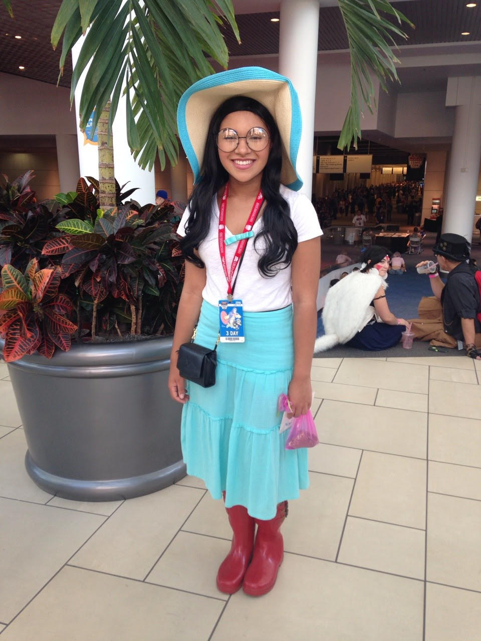 Marceline didn't work out so I went as Connie to Denver Comic Con instead!!