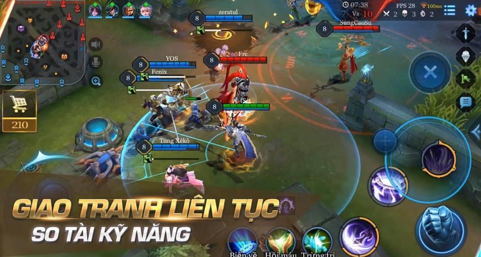 cách chơi game liên quân mobile phiên bản 2017