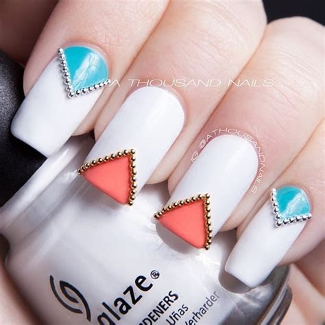 17 Cool Rhinestone Nail Designs for Inspiration ? SheIdeas