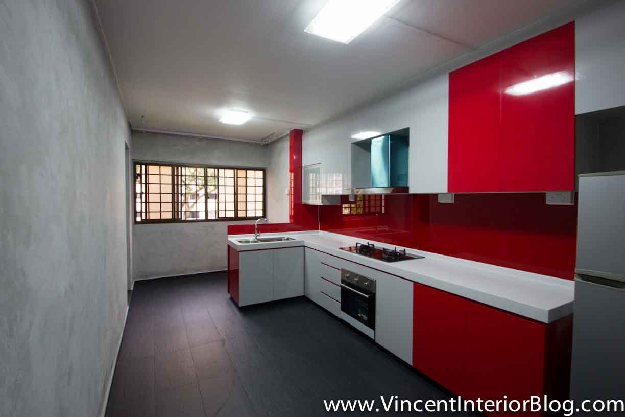 Resale 4 room HDB renovation Kitchen  Toilet by BEhome Design Concept – Part 2 Project