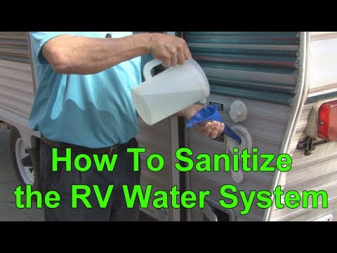 RV Education 101 videos: Sanitizing the RV Water System, & Installing Fastway Flip Jack, Roof Vent, & weBoost Cell Booster