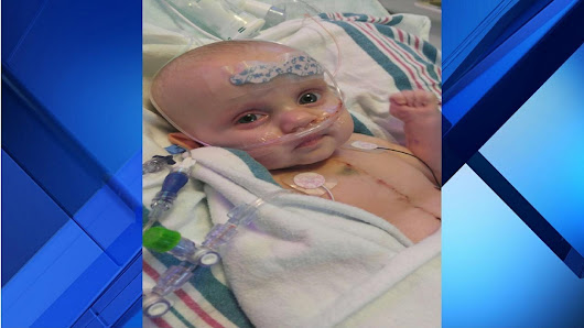 1-year-old girl needs new heart