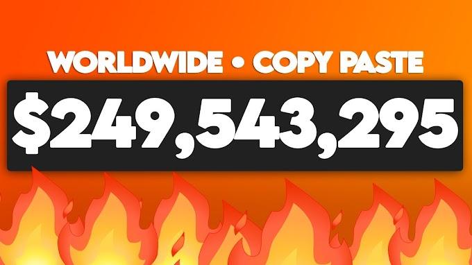 Get Paid To Copy & Paste Websites ($249,543,295.00 Total Paid) Make Money Online - Legit Internet Income