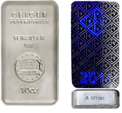 Share to Win 10 oz Geiger Silver Bar!
