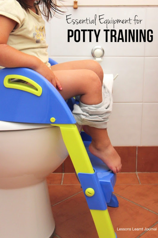How to Potty Train: Essential Equipment