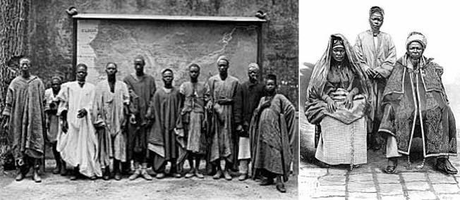 """5 mai 1889. La France expose fièrement ses """"nègres"""", Kanaks et Annamites à l'Expo universelle."""