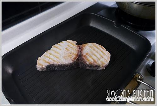 炙燒旗魚排佐檸檬奶油02