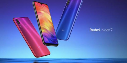 Xiaomi Redmi Note 7 Launched with 48MP Camera, Price in India, Full Specs