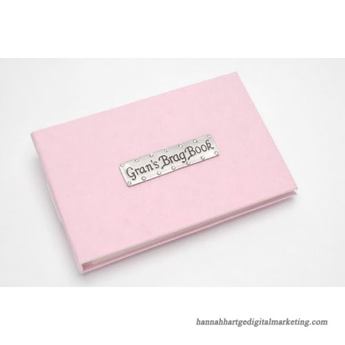 Grans Brag Book Pocket Photo Album A Soft Pink Photo Album