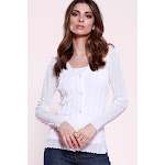 Linen Long Sleeve Cardigan